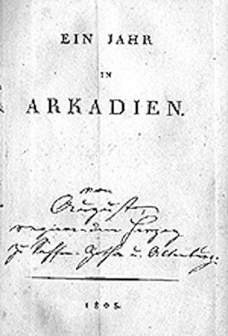A Year in Arcadia: Kyllenion - Image: Kyllenion (1805) Duke August