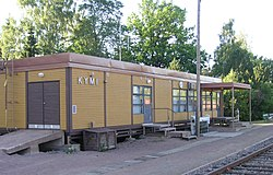 Kymi Railway Station in Kotka Finland.jpg