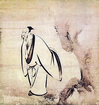 Kaihō Yūshō - Image: L'un des sept sages (1533 1615) par le peintre japonais Kaihō Yūshō