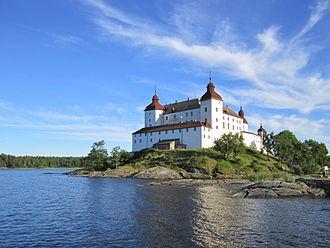 Läckö Castle - Läckö Castle from northwest.