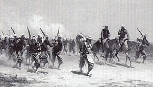 Belgian Armed Forces - Soldiers of the Corps Expeditionnaire Belge during the Franco-Mexican War.