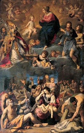 Ludovico Lana - Altarpiece of the Plague