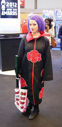 Cosplay de Konan à Japan Expo 2012.