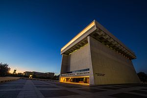 Gordon Bunshaft - The LBJ Presidential Library in Austin, Texas