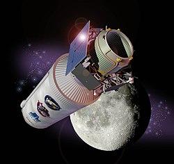 LCROSS spacecraft, kunstnerisk fremstilling