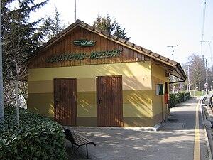 Jouxtens-Mézery - Jouxtens-Mézery train station