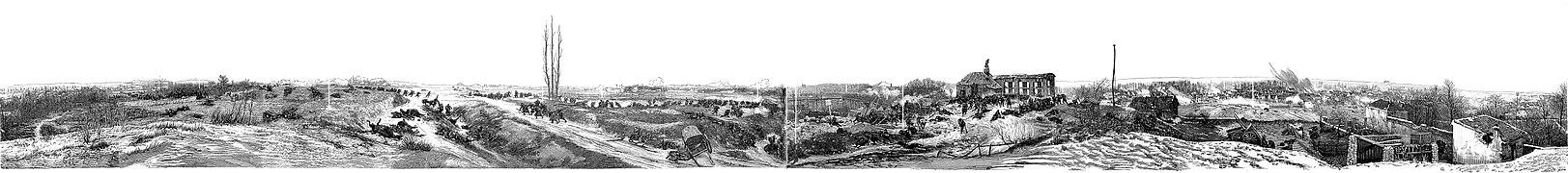 La Bataille de Champigny, dessin, 1882.jpg
