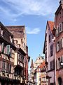 La Grand'Rue à Colmar au printemps.jpg