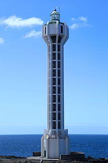 Punta Lava Lighthouse Lighthouse on La Palma, Spain