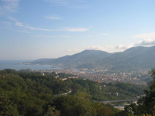 La Spezia - Vista da Sarbia