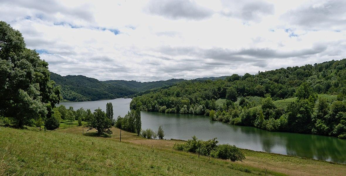 Lake of Mondély
