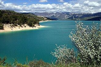 Lake of Sainte-Croix - Lac de Sainte-Croix