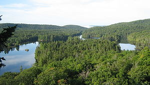 Jacques Buteux - Lac des Îles (Grandes-Piles) from Fr. Jacques Buteux Section