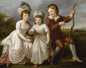 Lady Georgiana Spencer, Henrietta Spencer and George Viscount Althorp