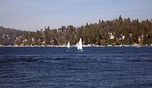 Lake Arrowhead Reservoir - Image: Lake Arrowhead 1