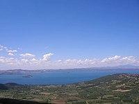 Panoramica del Lago di Bolsena