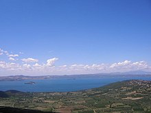 Panoramica del Lago di Bolsena.