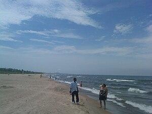 Miller Beach - The Lake Street Beach in Northwestern Miller Beach.