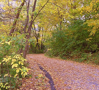 University of Wisconsin–Madison Lakeshore Nature Preserve - Image: Lakeshore Path 1 Madison, WI
