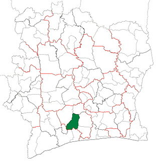 Lakota Department Department in Gôh-Djiboua, Ivory Coast