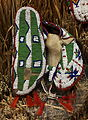 Lakota child's moccasins, c. 1880 - Bata Shoe Museum - DSC00578.JPG