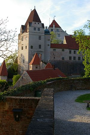 Henry XVI, Duke of Bavaria - Trausnitz Castle