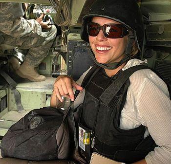 English: Picture of CBS News correspondent Lar...
