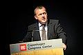 Lars Loekke Rasmussen, Danmarks statsminister, talar vid invigningen av Nordic Climate Solutions 2009. 2009-09-08.jpg