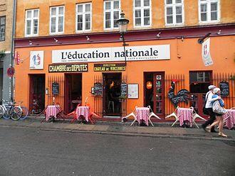 Latin Quarter, Copenhagen - Image: Larsbjørnstræde restaurant