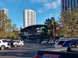 Las Vegas Monorail - Image: Las Vegas Monorail Westgate Station