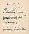 Le tombeau d Edgar Poe (Abschrift von Stefan George).jpg