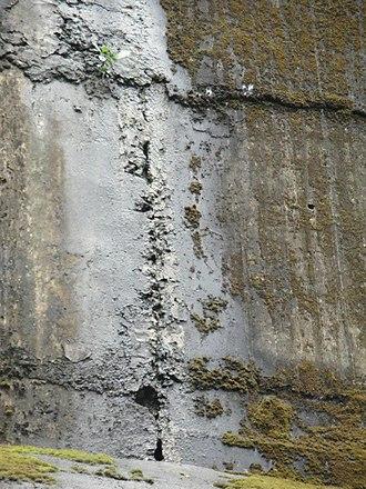 Mullaperiyar Dam - Leak joints in dam