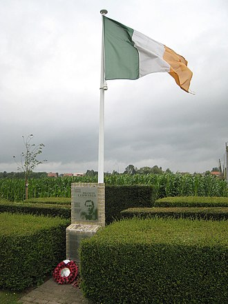 Francis Ledwidge - Memorial to Francis Ledwidge on the spot where he died