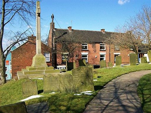 Leek churchyard 2