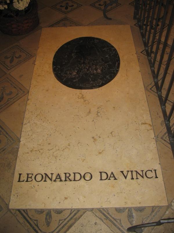 LeonardoDaVinci-Tomb