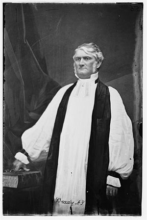 Leonidas Polk - Lt. Gen. Leonidas Polk 1862-1864 in his capacity as Bishop of Louisiana