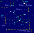 Lepus constellation map-fr.png
