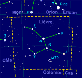 Image illustrative de l'article Lièvre (constellation)