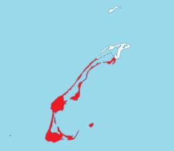 Località in Les Îles-de-la-Madeleine TE.