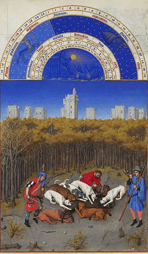 Facsimile - Les Très Riches Heures du duc de Berry, a famous illuminated manuscript, is on view to both the public and to scholars only in the form of a high-quality facsimile