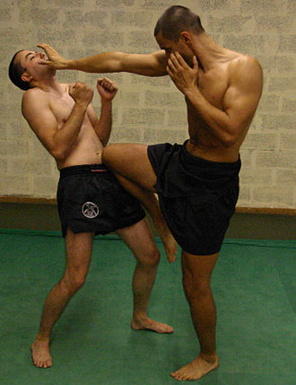 Lethwei - Image: Lethwei Knee Hand