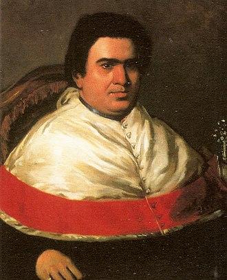 Lewis Brian Adams - Bishop Juan H. Bosset Castillo. 1844 Oil / canvas. National Art Gallery Collection, Caracas - Venezuela