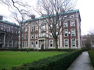 Columbia University School of General Studies - Lewisohn Hall at Columbia University, home to the School of General Studies