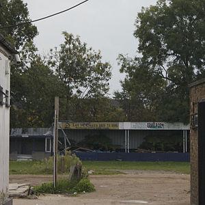 Leyton F.C. - Image: Leyton Stadium remains