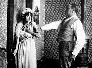 McTeague - Fania Marinoff and Holbrook Blinn in Life's Whirlpool (1916)