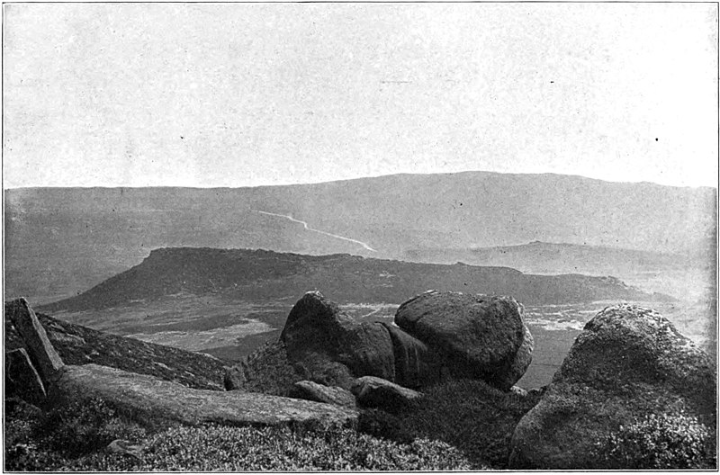 File:Life and Works of the Sisters Bronte - Moorland Scene Near Hathersage (Morton).jpg