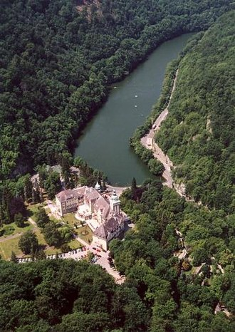 Lillafüred - Aerial photography of the palace