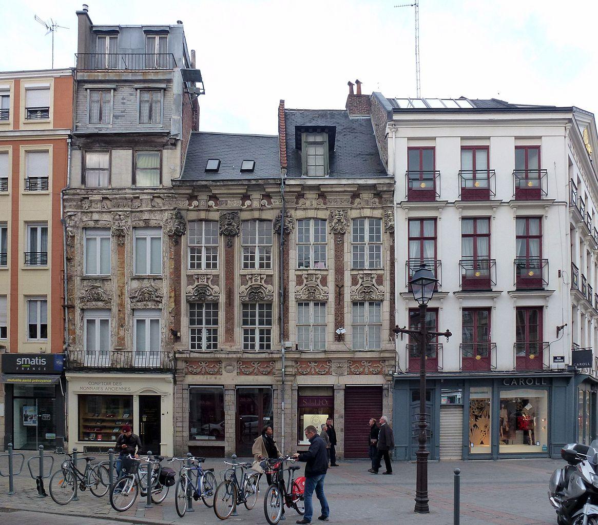 Fichier lille 4 6 8 rue esquermoise pa00107630 jpg wikip dia - Magasin meuble lille rue esquermoise ...