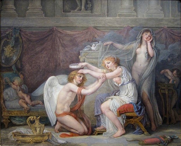 Cupid Crowned by Psyche, 1785-1790