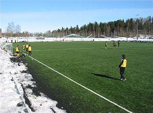 Lillestrøm Stadion - Image: Lillestrøm stadion